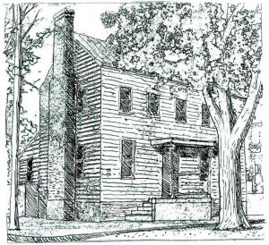 illustration of the gribble house