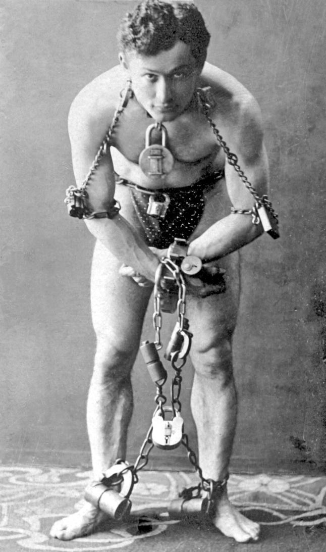 Harry houdini in 1899