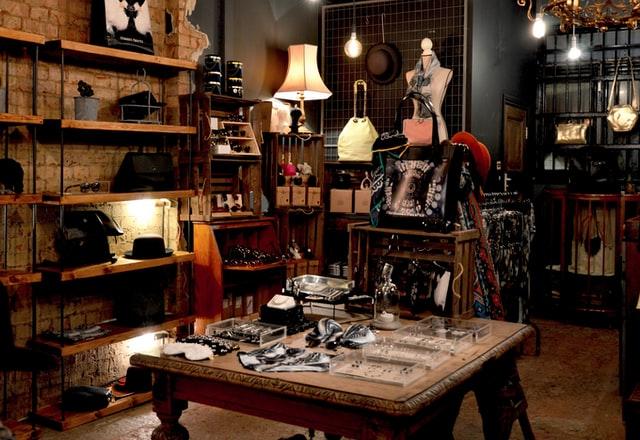 Room full of antique wares
